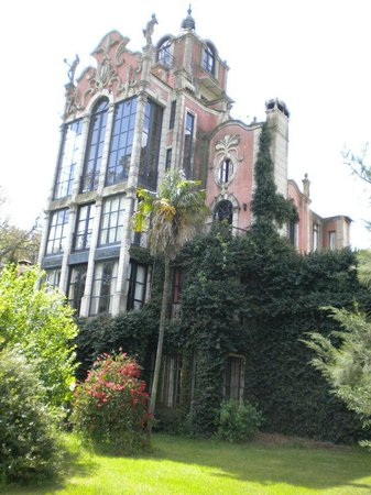 Estancia Santa Rita:                   Vista de la casa