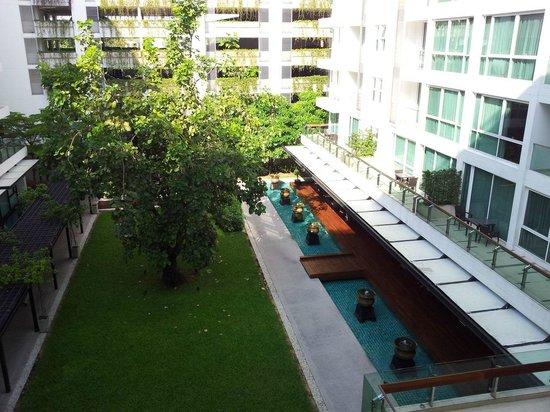 อมารี เรสซิเดนซ์ กรุงเทพ:                   Blick auf den Innenhof