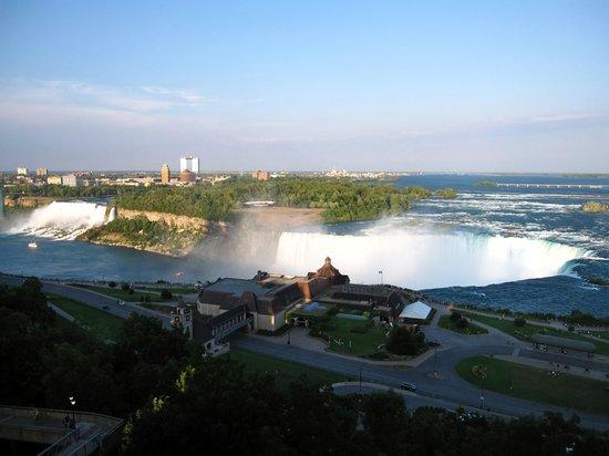 Niagara Falls Marriott Fallsview Hotel & Spa: Vue de notre chambre
