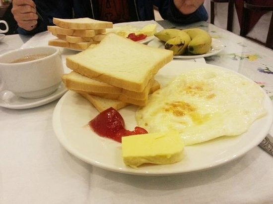 Green Diamond Hotel: Breakfast - one of many choices