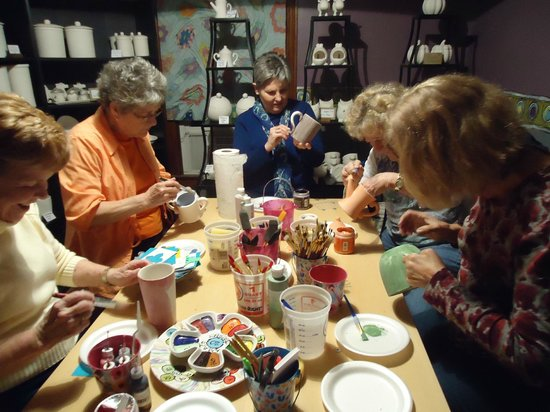 Lawrenceburg, KY:                                     Paint Your Own Pottery @ Elements
