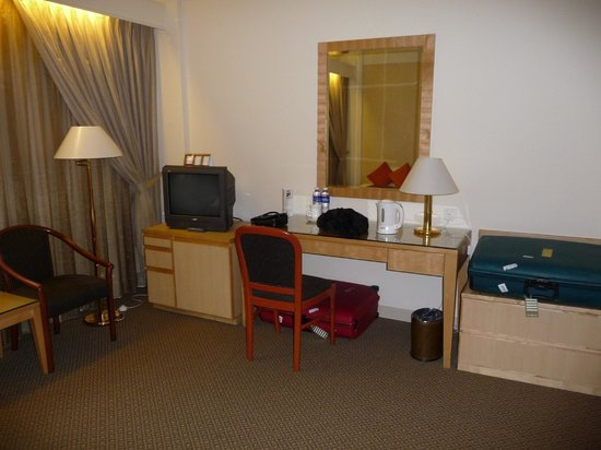 Hotel Miramar:                                     part of room