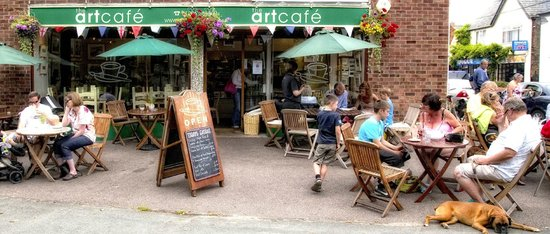 The Art Cafe: Lazy Summer Lunch
