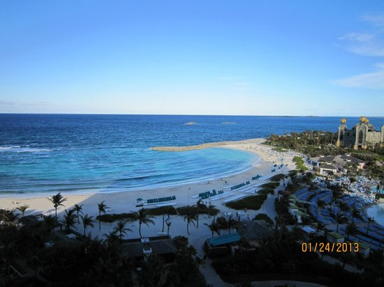 The Cove Atlantis, Autograph Collection: View from room 9828