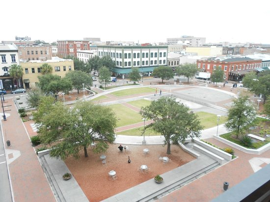Andaz Savannah:                   View from room