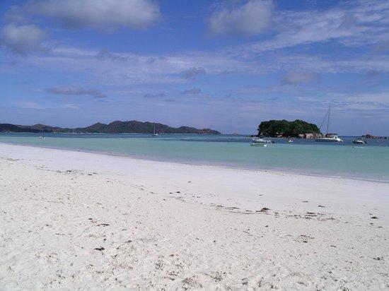 Anse Volbert : une petite partie de la plage