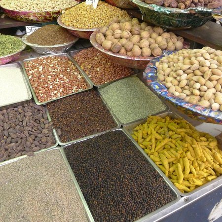 National Capital Territory of Delhi, India:                   Spice Market on Khari Baoli Rd in Old Delhi (7)