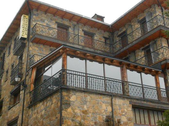 Hotel Mediodía:                   Hotel y terracita