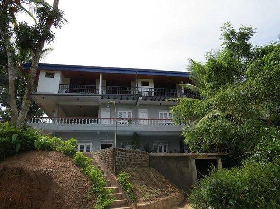 Blue Haven Guest House: Blick aufs Blue Havern Guesthouse (neue 2. Etage)