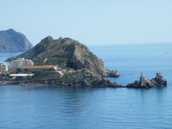 Aguilas, Espagne :                                                                         another view from the ca