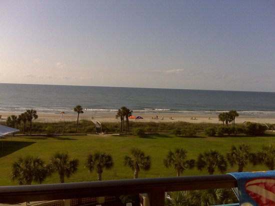 DoubleTree Resort by Hilton Myrtle Beach Oceanfront:                   view from the palmetto building