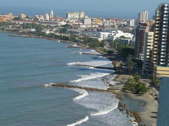 Decameron Cartagena:                   Vista de la cuidad