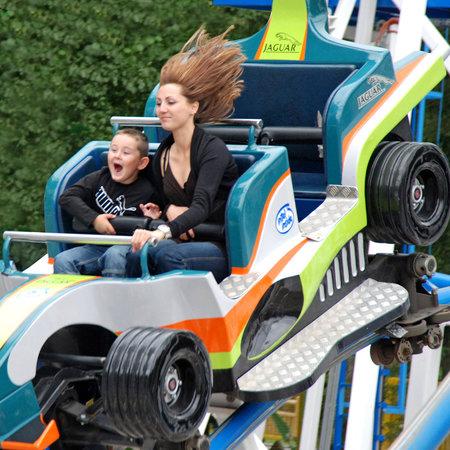 Parc Saint Paul : Le Coaster Formule 1