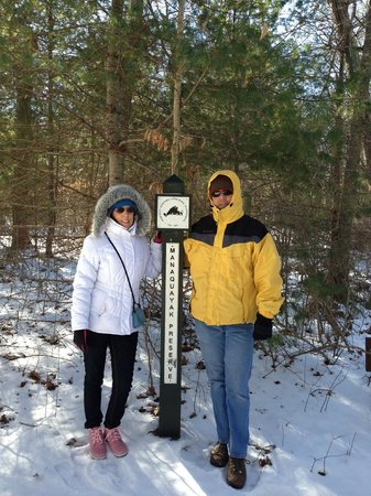 Lambert's Cove Inn:                   hiking the trails!