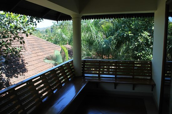 The Elephant Court Thekkady: Balcony
