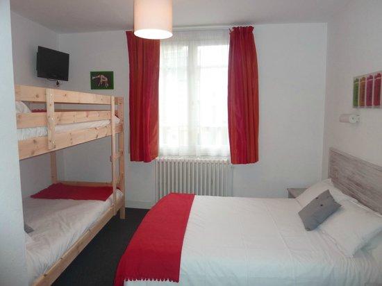 Hotel de la Paix - Trouville-sur-Mer: chambre quadruple