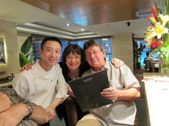 Oakwood Premier Guangzhou:                   James - sensational chef! Fabulous meals