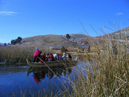 Inca Utama Hotel: Site sur le lac Titicaca