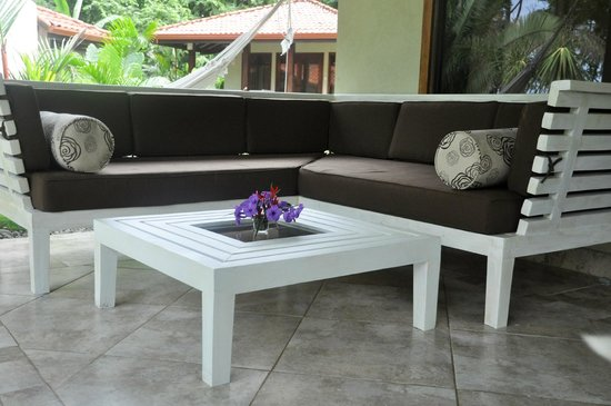 Playa Cielo: Outdoor sitting area