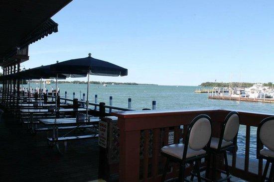 Island Club: View from The Boardwalk