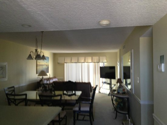 Canaveral Towers Condominiums:                   living room