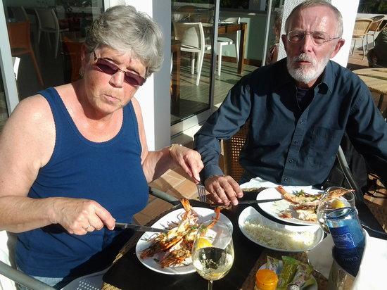 Praia Grande Restaurante & Bar:                   Nice large grilled Tiger Prawns