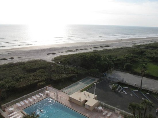 Canaveral Towers Condominiums:                   View from balcony
