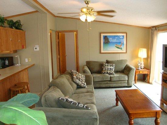 آيلاند كلوب رينتالز: Living Room