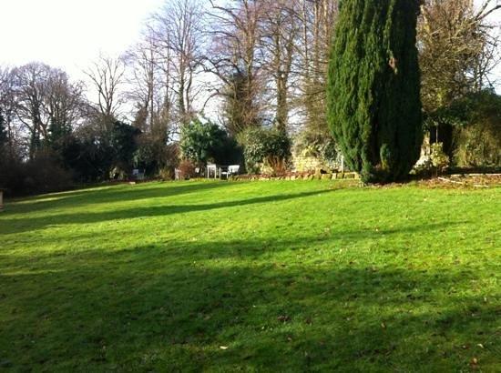 Riber Hall: the garden