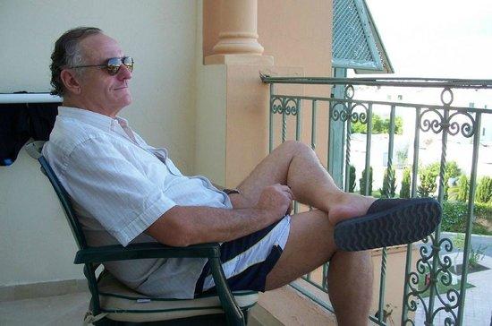 Alhambra Thalasso Hotel:                   relax sur notre balcon