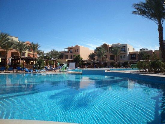 Jaz Makadi Saraya Resort :                   Härliga poolområdet