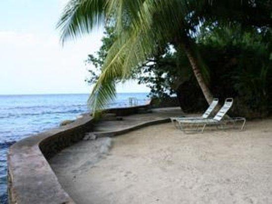 Tower Isle, Jamaica:                                     private beach area