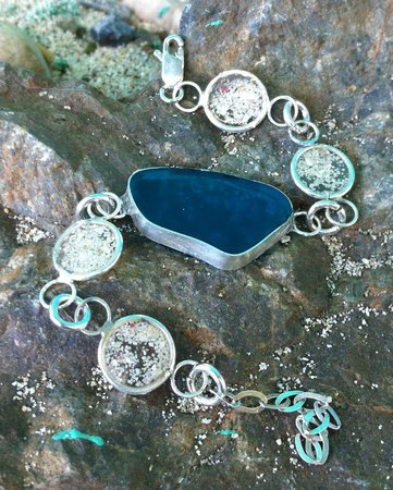 Water Candy: Sand and Sea Glass Bracelet
