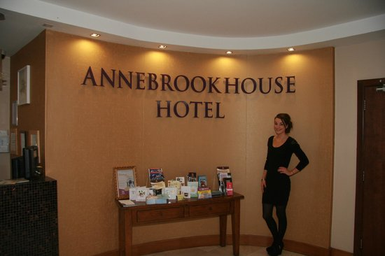 Annebrook House Hotel:                                     2013 Face of Ireland Annita Brady at the Annebrook House Hot