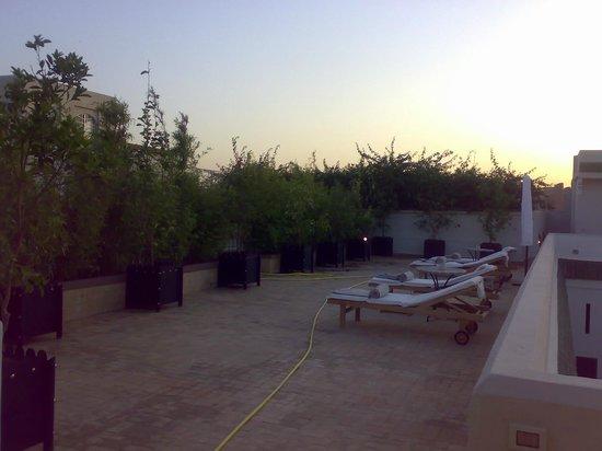 Riad Lotus Privilege:                   terrasse etage