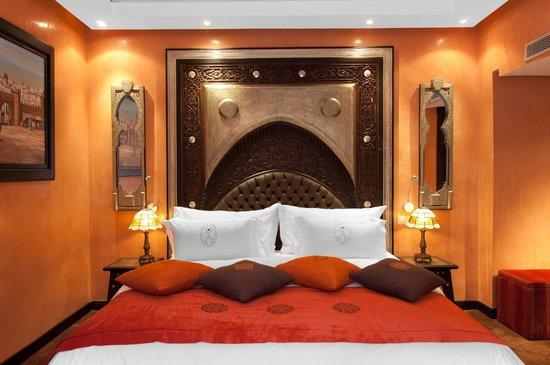 Art Palace & Spa : Suite Ibnou Al Arabi - Chambre
