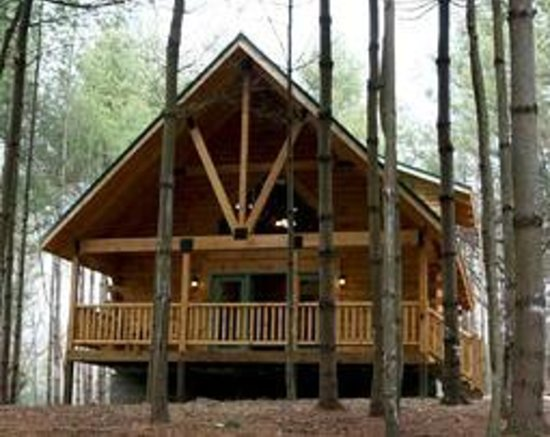 Cabins at Pine Haven: The Raft-2 Bedroom