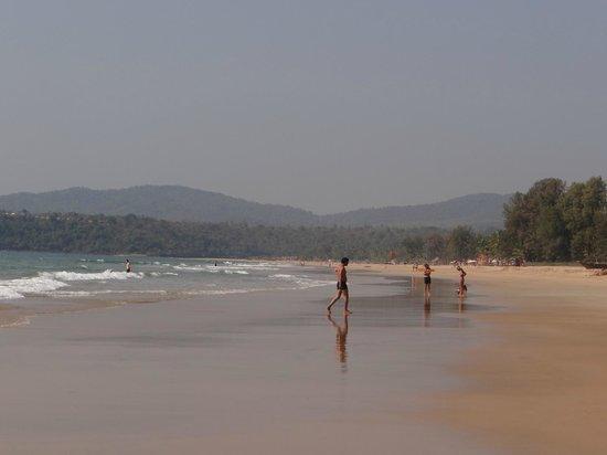Agonda Beach :                                     beach view