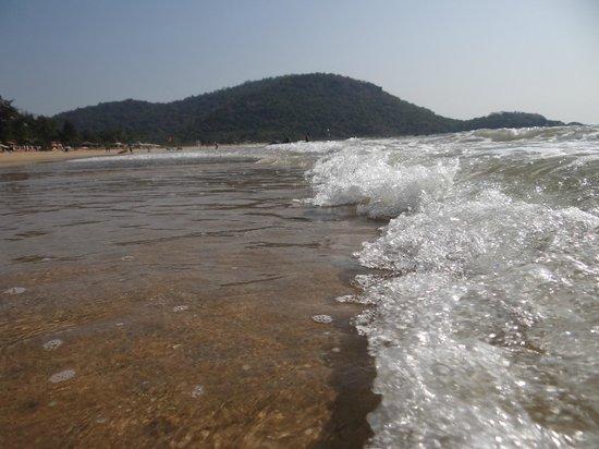Agonda Beach:                                     beach view