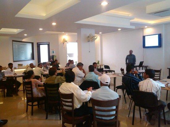Mulberry Retreat - Sushant Lok II :                   Training in Progress