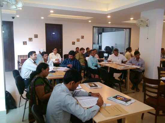 Mulberry Retreat - Sushant Lok II :                   Training at Basement