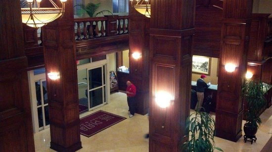 Plaza Resort & Spa:                                     Main Lobby of the Hotel