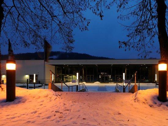 Sporthotel Borussia Dusseldorf : Aussenansicht im Winter