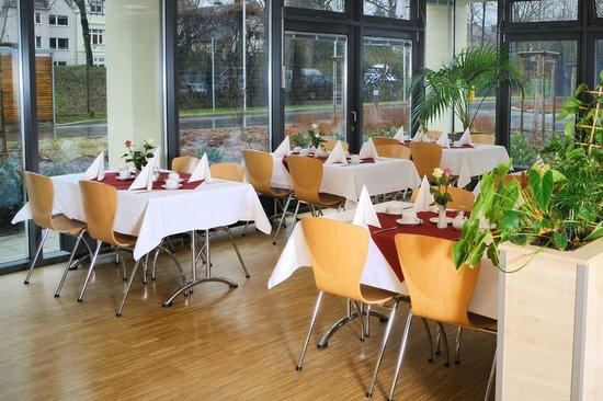Sporthotel Borussia Dusseldorf : Frühstücksraum