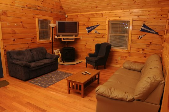 Cabins at Pine Haven: The Summit Living Room
