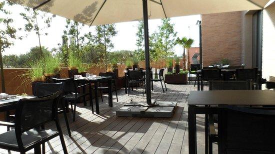 Cesar Resort & Spa:                   terrasse petit dejeuner