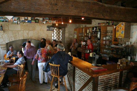 Relais du Chateau :                                     Bar Area