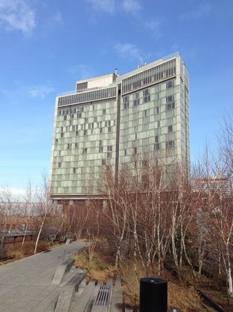The Standard, High Line:                   from the highline walkway