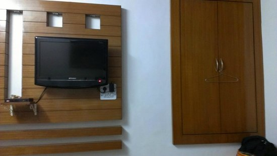 All Seasons Homestay Jaipur: The LCD in the room
