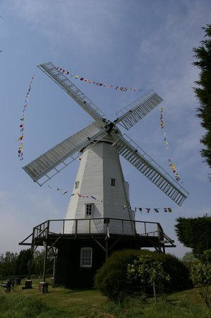Woodchurch Windmill: Well dressed